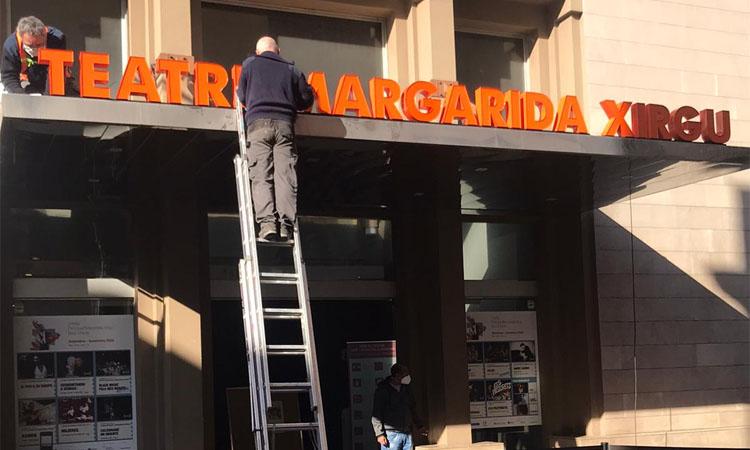 El Teatre Principal de Badalona canvia de nom en homenatge a Margarida Xirgu