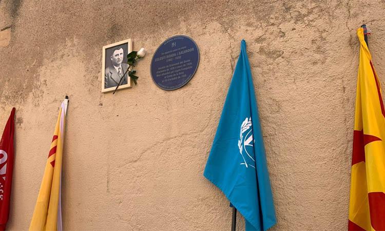 Homenatge i lapsus municipal en el 81è aniversari de la mort de Celestí Boada