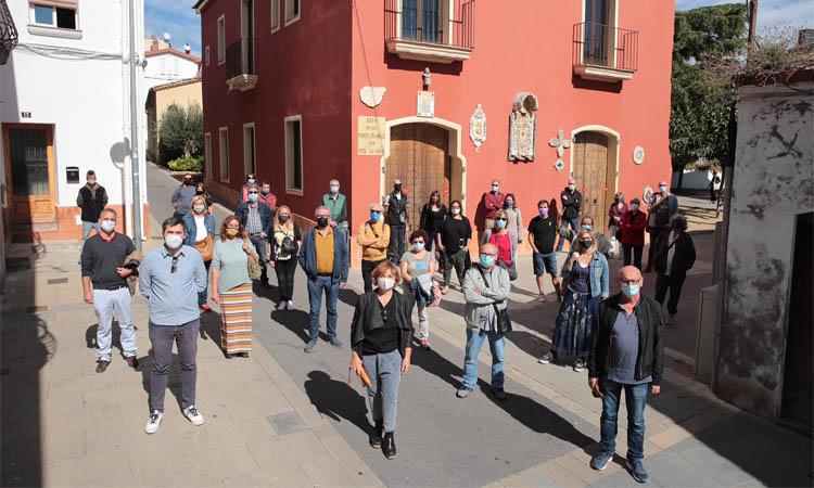 Front comú de Junts i JxCat per reclamar Can Riera com a equipament cultural