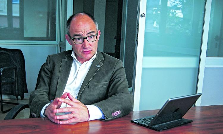 """Ferran Falcó: """"Badalona també pot sortir als diaris pel seu potencial"""""""
