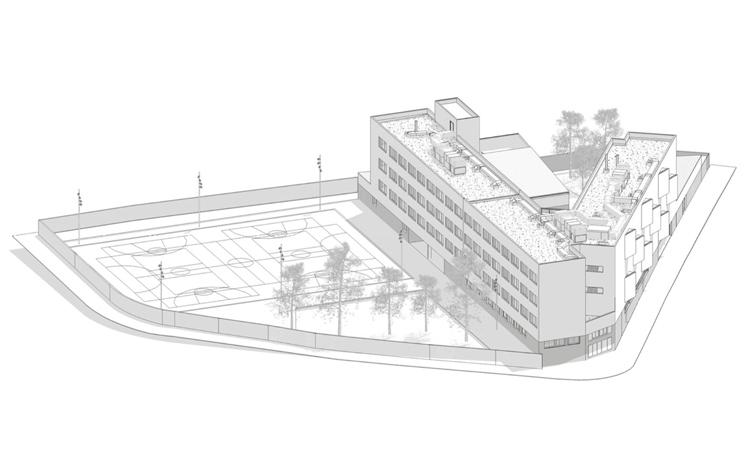 Liciten les obres per construir l'esperat nou edifici de l'institut Ventura Gassol de Badalona