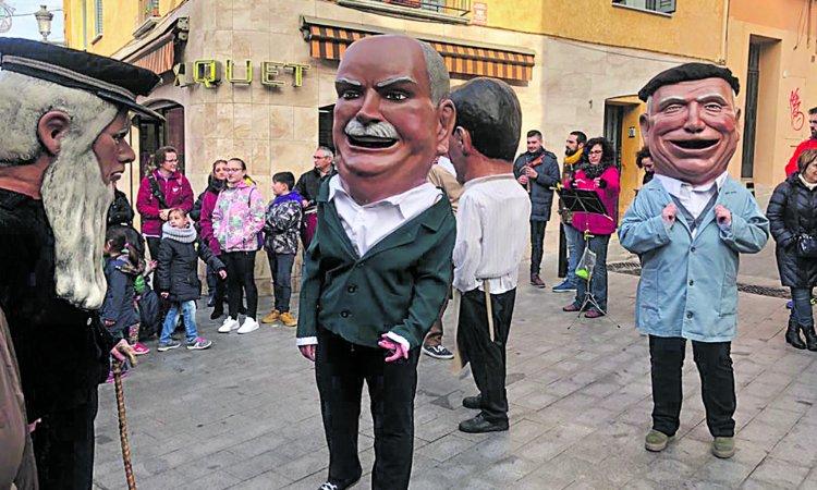 Capgrossos Festa Major de Santa Coloma de Gramenet