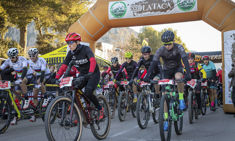 La desena edició de la Portals aplega 1.500 ciclistes