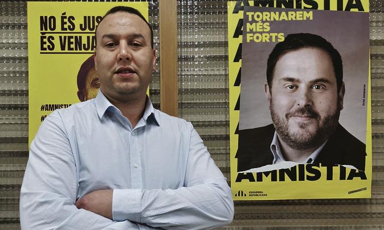 """Messaoudi (ERC): """"Per defensar el país cal un govern dels partits independentistes"""""""