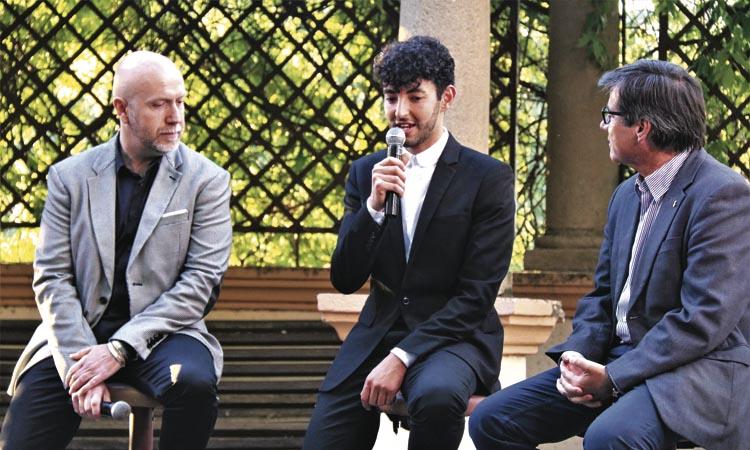 Karim Adduchi, de Martorell a ser finalista dels premis Vogue