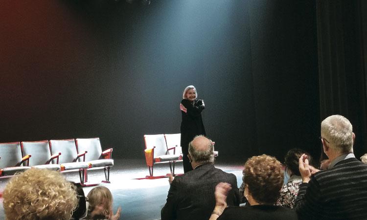 Núria Espert omple el seu teatre amb el 'duende' de Lorca