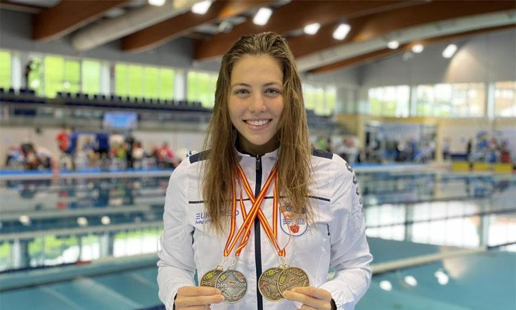 Marquès es penja 4 medalles a l'estatal d'Oviedo