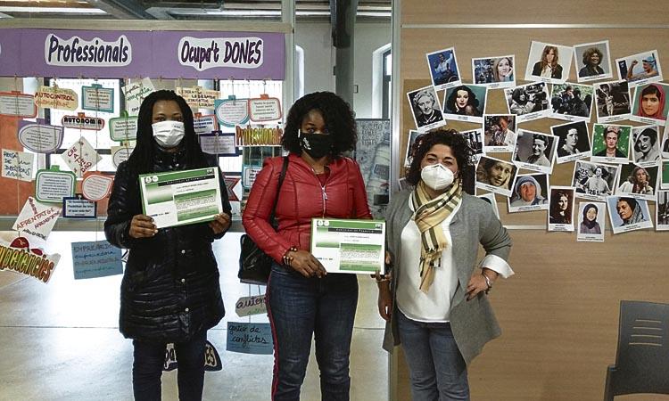 El 75% de les participants d'Ocupa't Dones troba feina