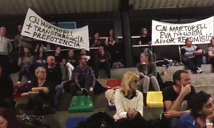 Demanen la dimissió de la presidenta del CNMartorell