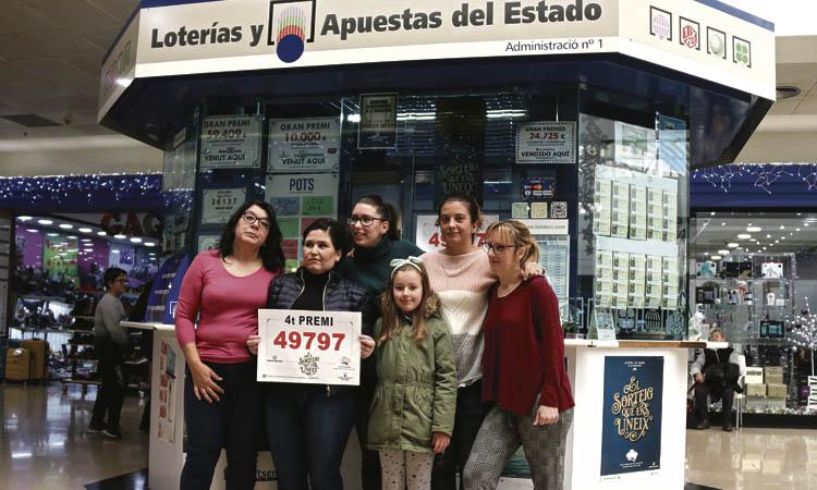 La loteria de Nadal reparteix sis milions d'euros a Abrera