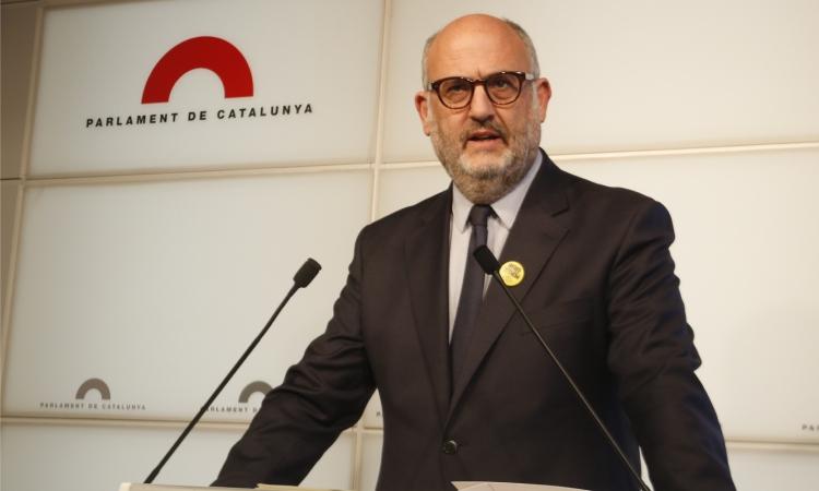 Eduard Pujol porta a la justícia les acusacions d'assetjament sexual
