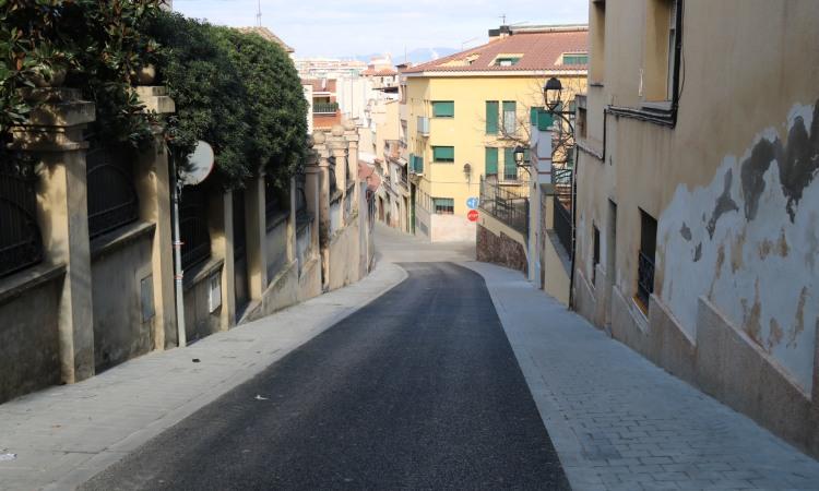 Acaben les obres del barri Rosanes de Martorell