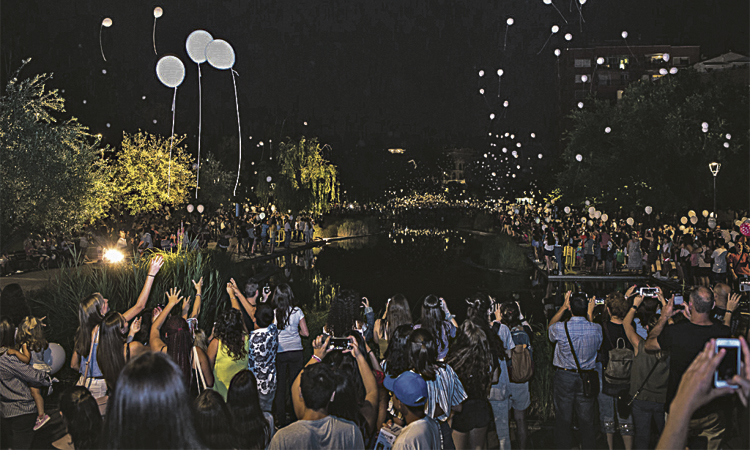 Olesa es bolca amb els actes de la Festa Major