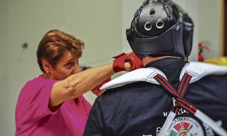 Autodefensa feminista a Martorell o com combatre la por