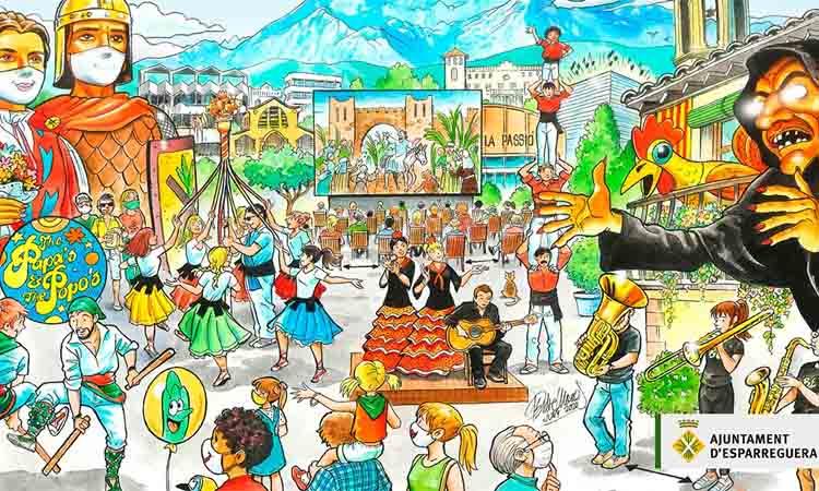 Esparreguera escalfa motors per viure una Festa Major híbrida