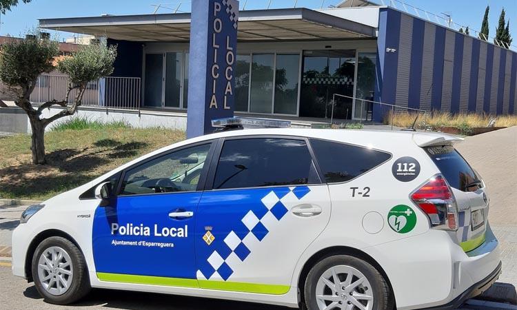 Polèmica per uns vídeos de la Policia Local d'Esparreguera