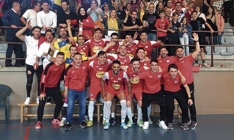 El Sala 5 Martorell guanya la lliga i torna a Segona Divisió B