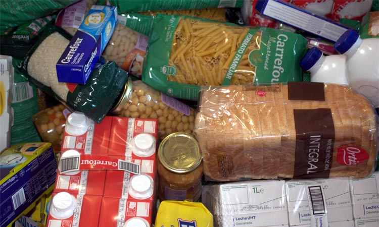 El Banc d'Aliments de Sant Esteve prepara una recollida extraordinària