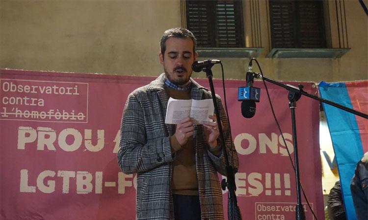 Premi de l'Observatori contra l'Homofòbia a l'alcalde Eduard Rivas