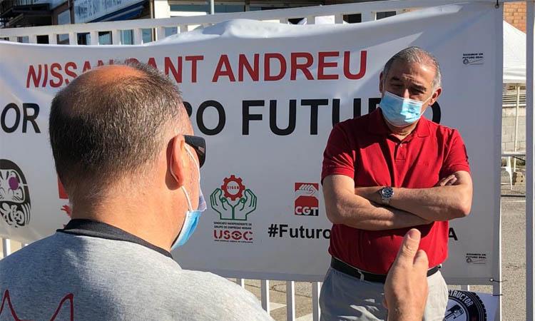 Llorca es reunirà amb la direcció de la planta de Nissan a Sant Andreu