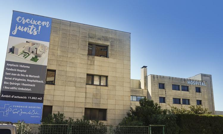 Comença l'ampliació de l'Hospital de Martorell