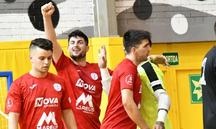 El Sala 5 Martorell tanca la primera fase de la lliga en segona posició