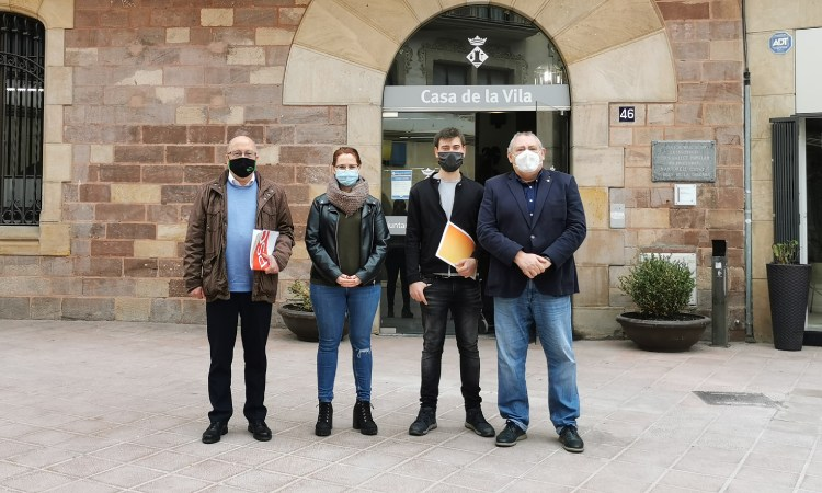 Front comú de l'oposició de Martorell per reclamar pluralitat als mitjans municipals