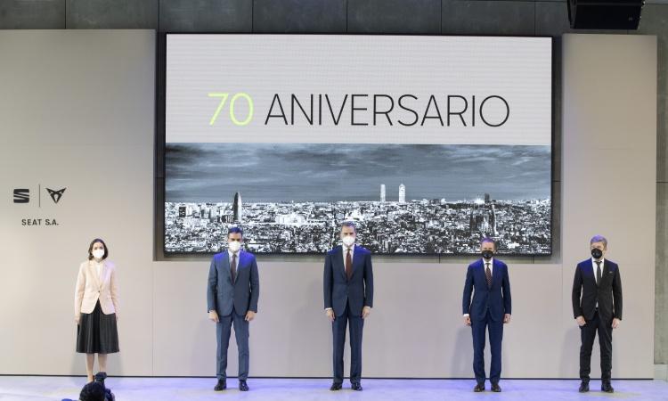 El grup Volkswagen reitera la seva voluntat de fabricar un cotxe elèctric a Martorell