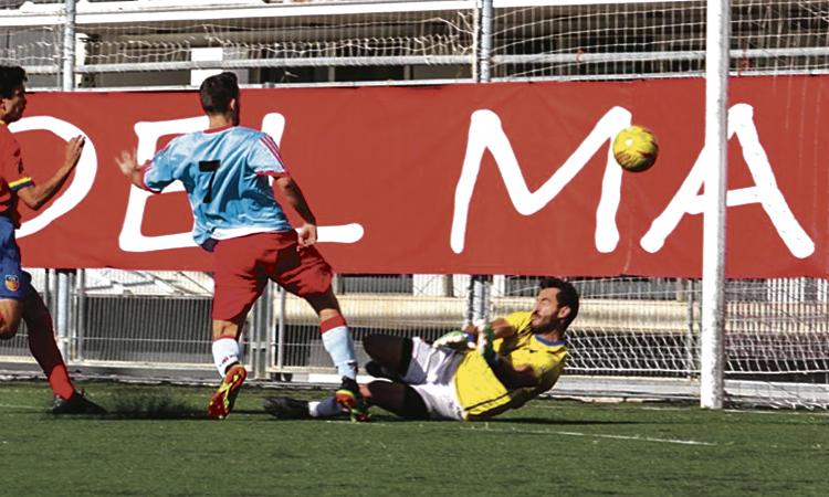Cop d'autoritat del CF Martorell a Barcelona