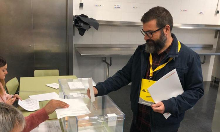 Triomf clar d'ERC a Collbató, feu independentista