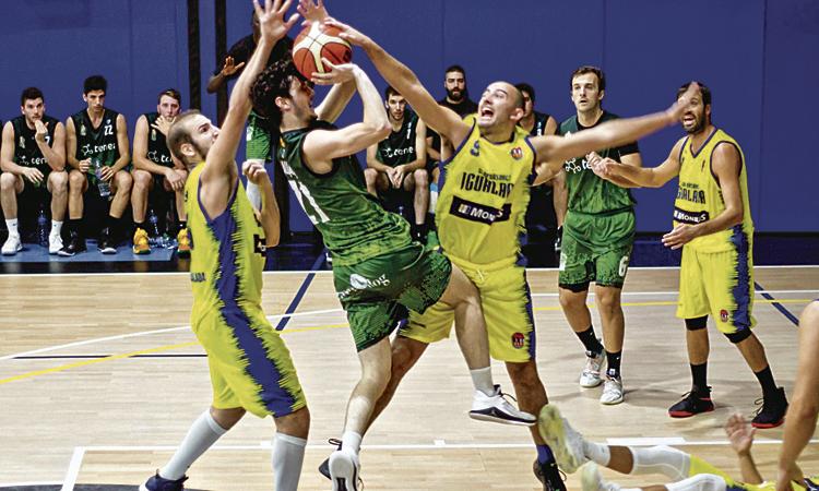 Ratxes negatives dels equips de bàsquet de la lliga EBA