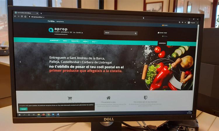 Les botigues de Sant Andreu estrenen un nou web de venda online