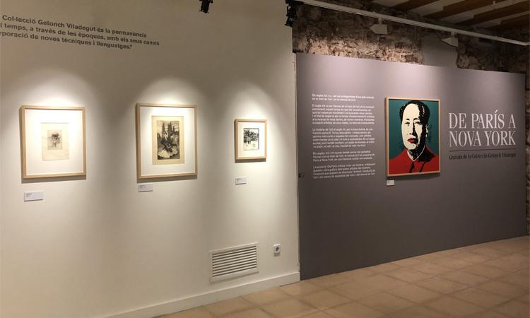 L'exposició 'De París a Nova York' aterra a l'espai Muxart de Martorell