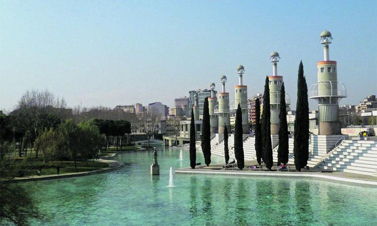 Una fàbrica convertida en espai de lleure: el parc de l'Espanya Industrial