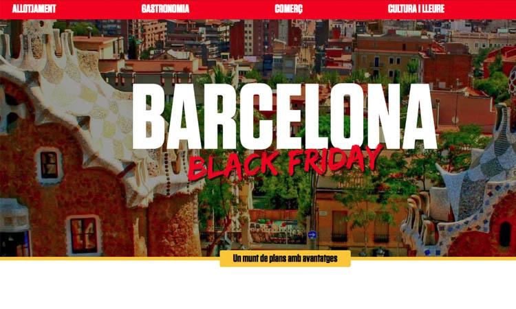 Turisme de Barcelona s'afegeix al Black Friday per fomentar el consum local