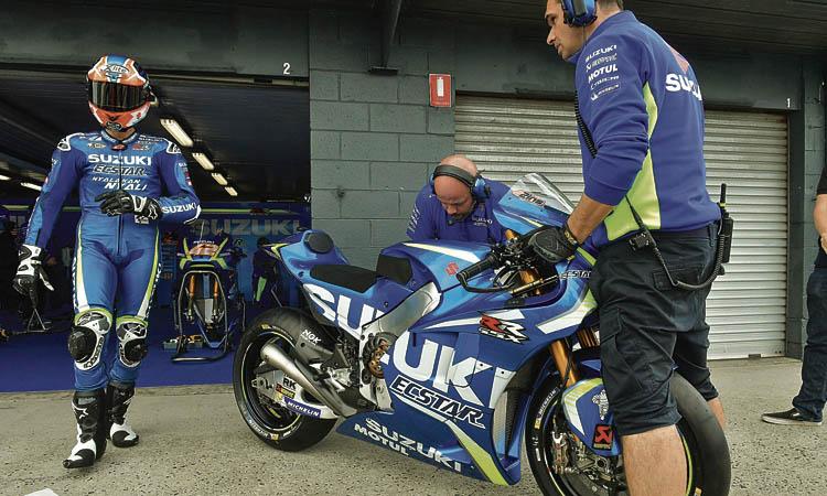 Alex Rins renova amb Suzuki fins a l'any 2022