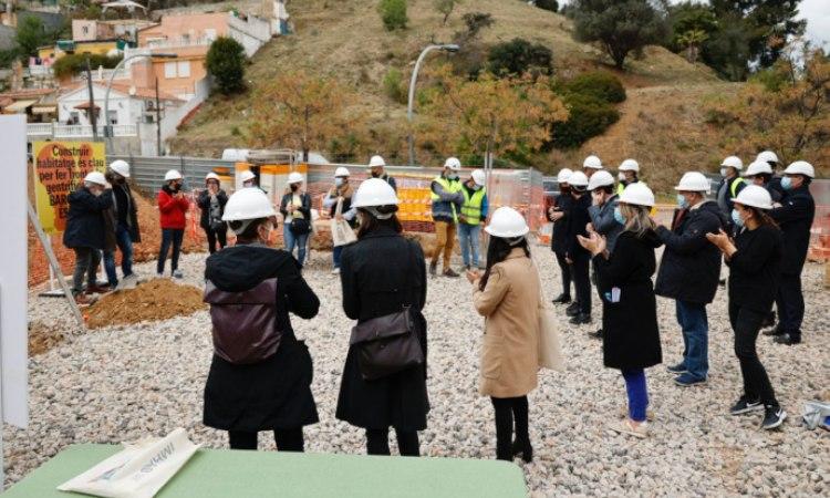 Comencen les obres per fer 31 pisos de lloguer social a Torre Baró