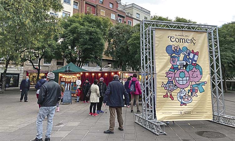El comerç local celebra Nadal amb diferents espectacles