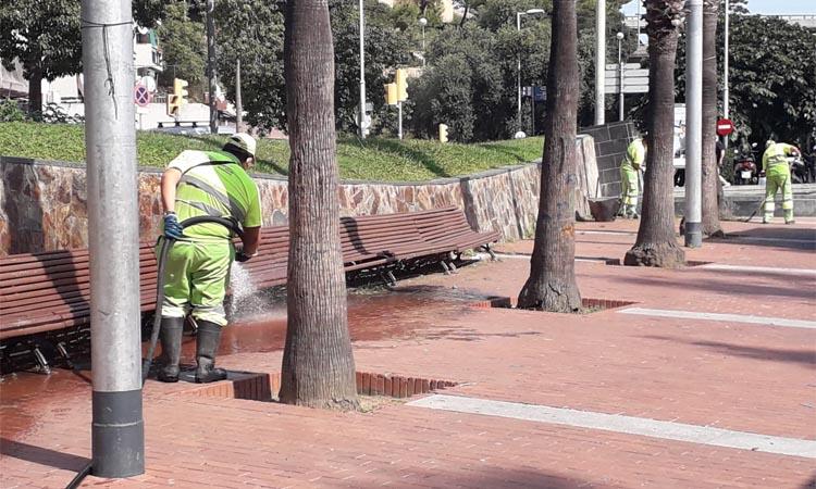 Nou Barris posa en marxa un projecte de neteja comunitària