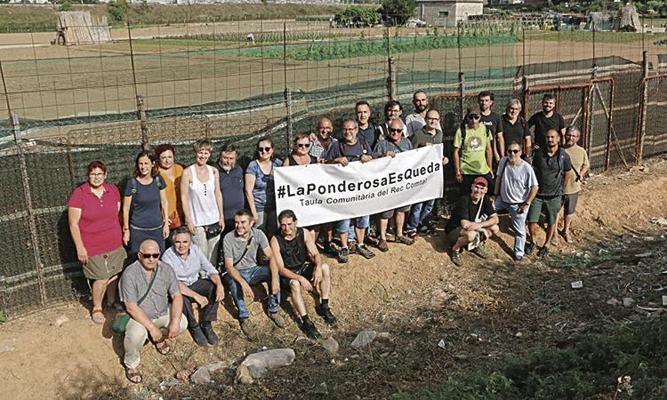 Petició per garantir el futur dels horts de la Ponderosa