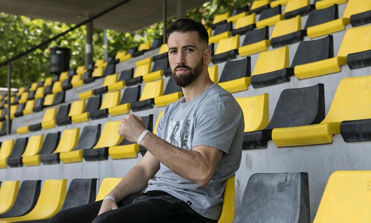 Sandor Martín es prepara per al combat pel Campionat d'Europa