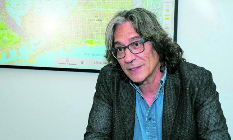 """Xavier Marcé: """"Els veïns de Nou Barris s'han de sentir de BarceIona"""""""