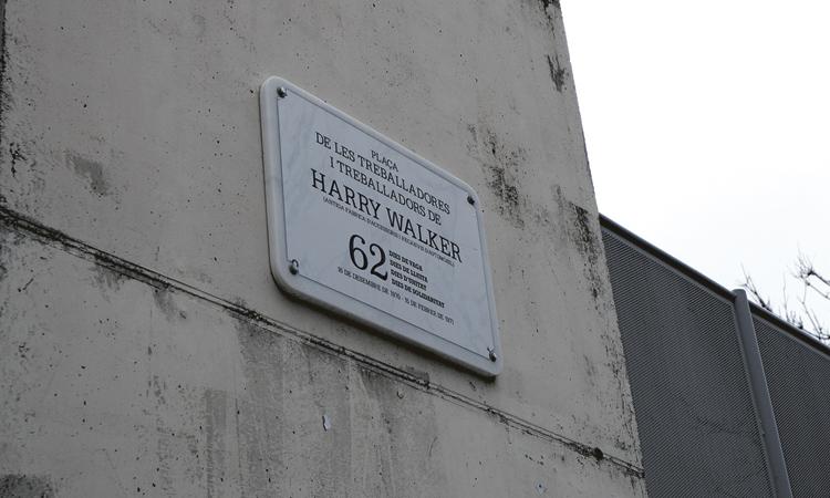 La Prospe celebra el canvi de nom de la plaça Harry Walker