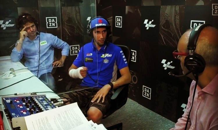Alex Rins vol tornar a competir a Sachsenring