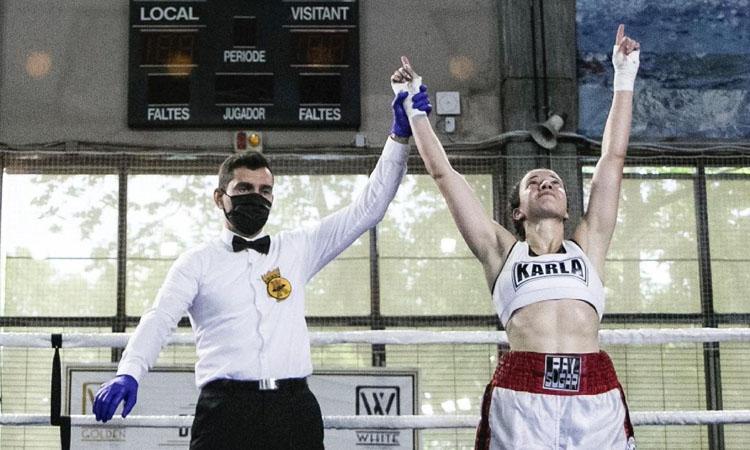 Karla Mérida guanya el seu primer combat professional