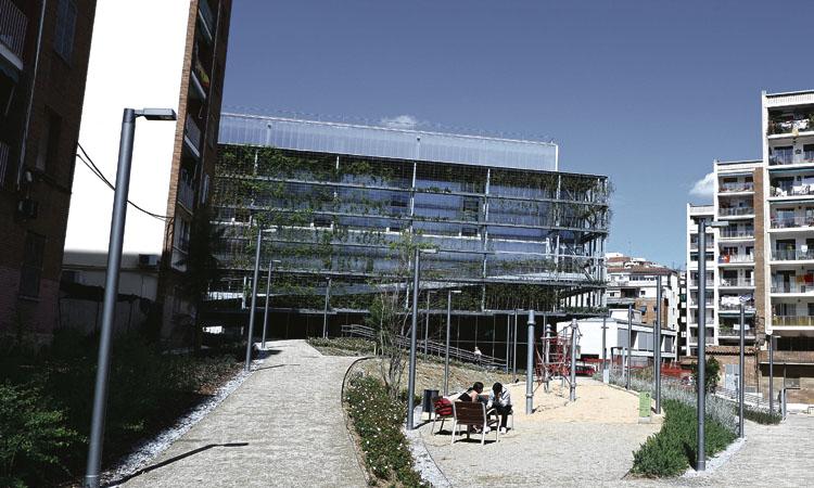 Premi arquitectònic per al nou pavelló del Turó de la Peira