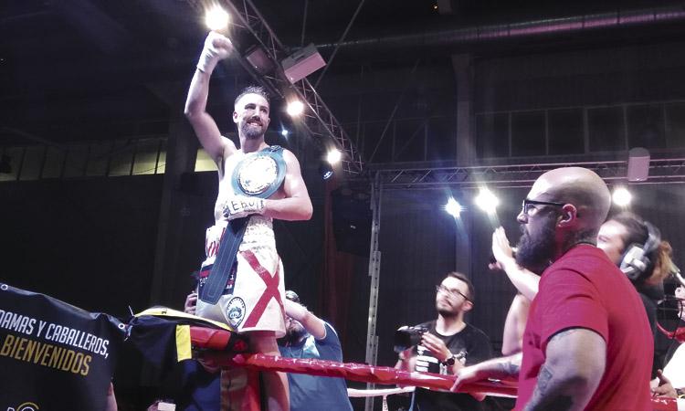 Martín defensarà el títol europeu el 12 de desembre