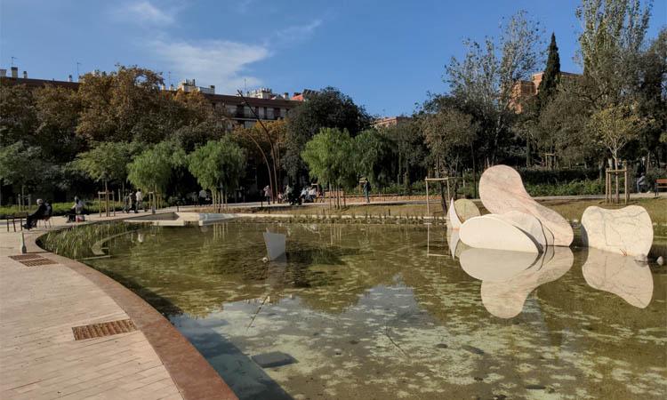 La plaça Sóller ja llueix la seva nova imatge