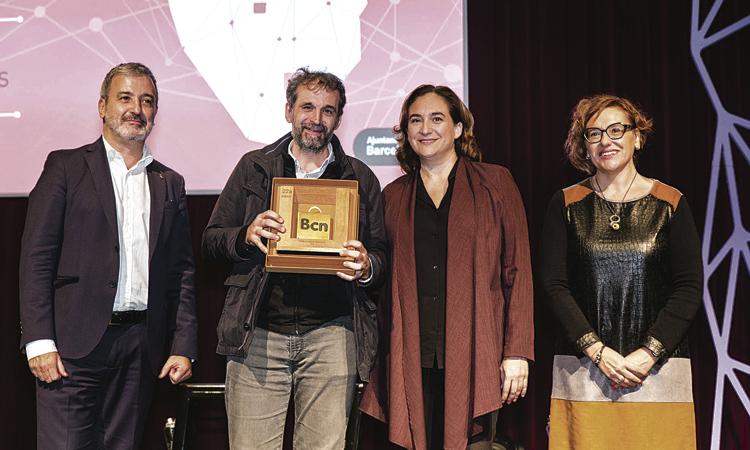 Daniel Jordà (Panes Creativos), premi al Comerç Innovador