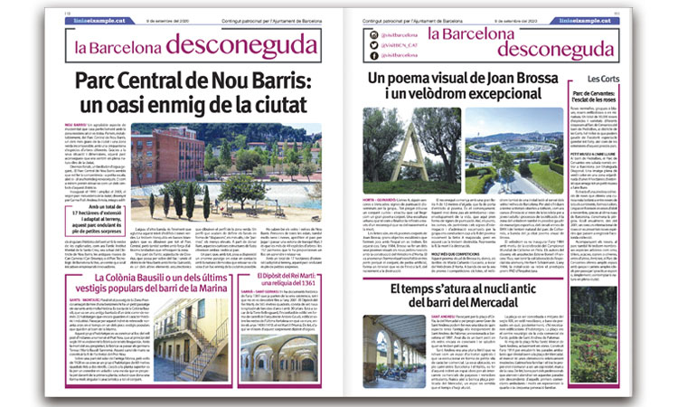 Línia publica el nou suplement 'La Barcelona desconeguda'